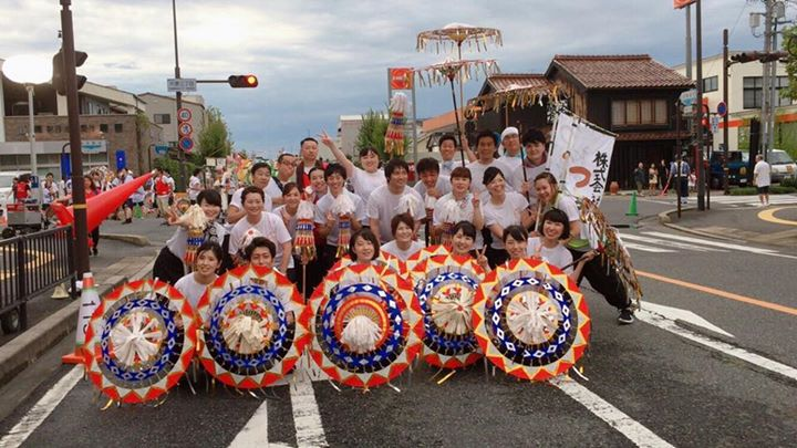 8/14に開催された鳥取しゃんしゃん祭りにチームつむぎで参加しました^_^